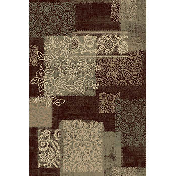 Portrait Nylo 7'6 x 9'6 Rug - Dark Wine