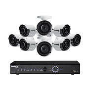 Lorex 8-Channel 8-Camera 4K UHD Security System with 2TB NVR