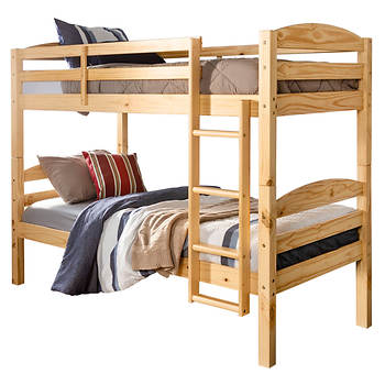 W. Trends Twin/Twin-Size Bunk Bed - Natural
