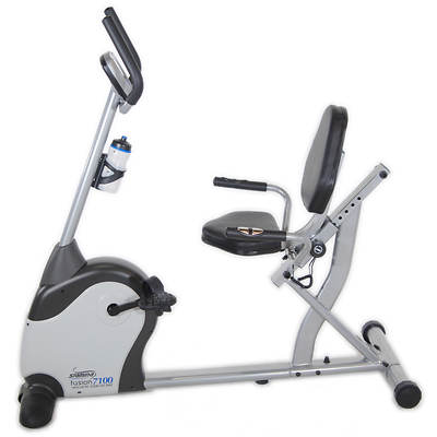 Stamina Magnetic Fusion 7100 Exercise Bike with Bonus Folding Equipment Mat