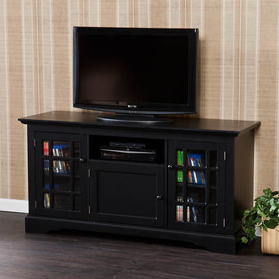 "SEI Prince 55"" Entertainment Center - Black"