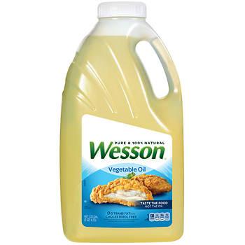 Wesson Vegetable Oil, 5 Quarts