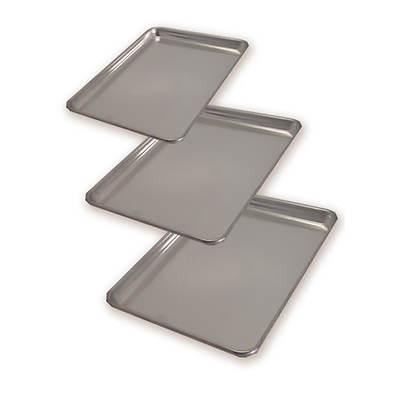 Artisan Metal Works 3-Piece Professional-Grade Aluminum Baking Sheet Set