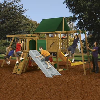 PlayStar Legend Factory Built Gold Swing Set