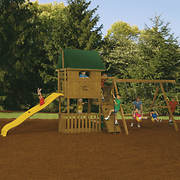 PlayStar Great Escape Factory Built Starter Swing Set
