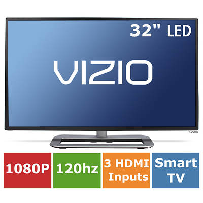 "Vizio Razor M-Series 32"" Smart LED 1080p 120Hz Wi-Fi Internet Apps Plus"