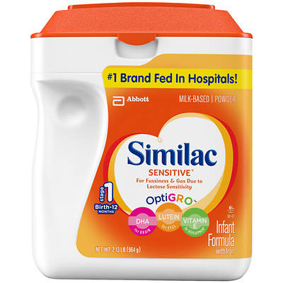 Similac Sensitive Infant Powder Formula, 34 Oz.