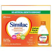 Similac Sensitive Ready to Feed Infant Formula, 8 pk./32 fl.oz.