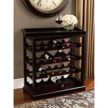 Bombay Davenport Open Wine Cabinet - Cognac