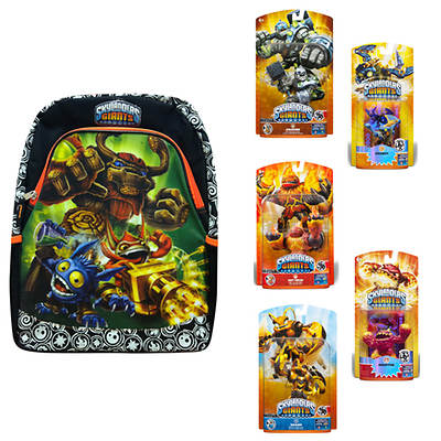 Skylanders Giants Giant Character and LightCore Character Pack with Backpack (Universal Products)