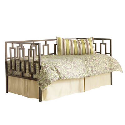 Leggett & Platt Fashion Bed Miami Daybed with Link Spring - Coffee
