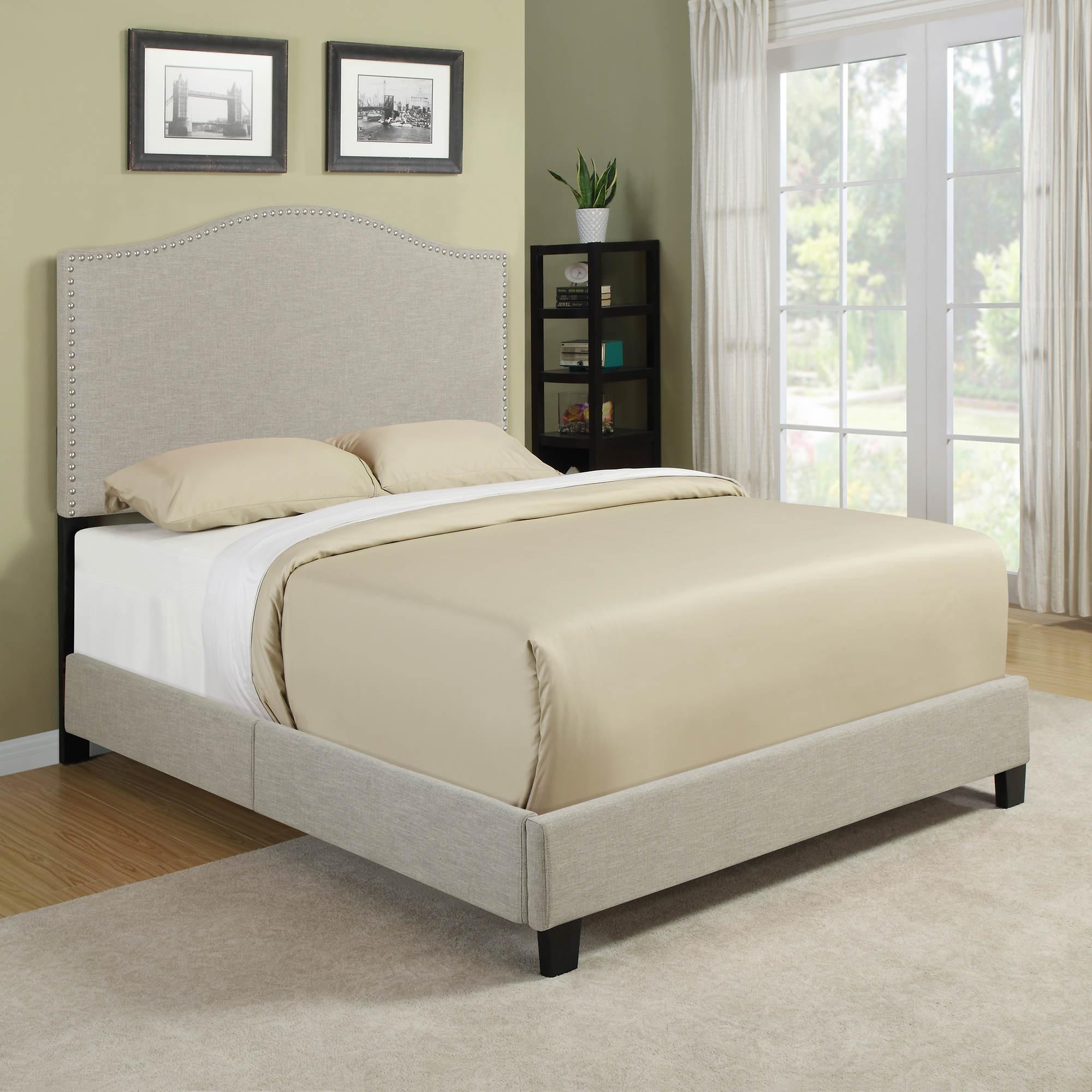Handy Living Noleta Queen Size Bed Tan BJ 39 S Wholesale Club