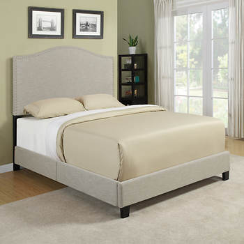 Handy Living Noleta Queen-Size Bed - Tan
