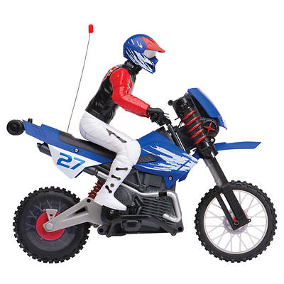 Gyro Cycle 1/6th Scale Radio Controlled Motorcycle and Action Figure