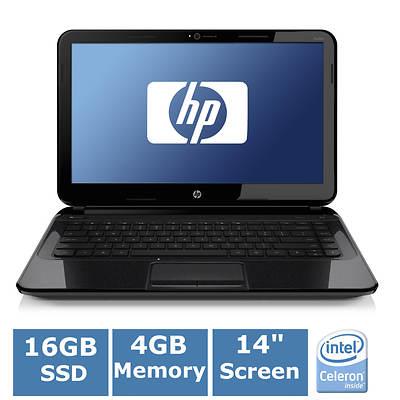 HP Pavilion 14 Chromebook 14-c050nr Laptop, 1.1GHz Intel Celeron Processor 847