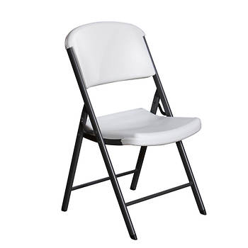 Lifetime Commercial Folding Chair, 32 pk. - White Granite
