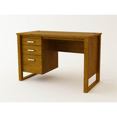 Ameriwood 3-Drawer Desk - Bank Alder