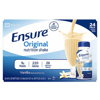 Ensure Regular Vanilla Shake, 24 pk./8 fl.oz.