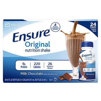 Ensure Regular Chocolate Shake, 8 Fl.Oz., 24-Pk