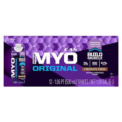 EAS Myoplex Original Chocolate Shake, 12-Pk