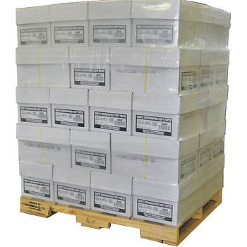 Xerographic Copy Paper, 40-Case Pallet with 95 Brightness, 20-lb., Letter - White