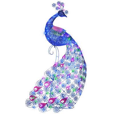 Gemmy 5' Sparkle LED Peacock