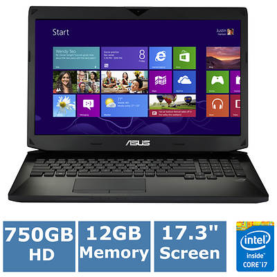 ASUS ROG G750JX-RB71 Laptop, Up to 3.4GHz Intel Core i7-4700HQ Haswell Processor