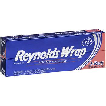 """Reynolds Wrap Standard 12""""x 250' Foil Wrap, 2 pk."""