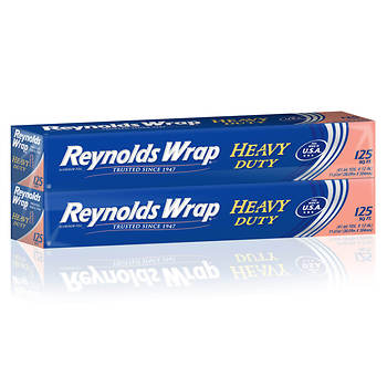 Reynolds Wrap Heavy-Duty Foil Wrap, 2 pk./125'