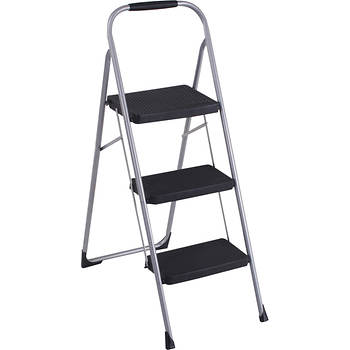 Cosco Products Big Step 3-Step Folding Step Stool