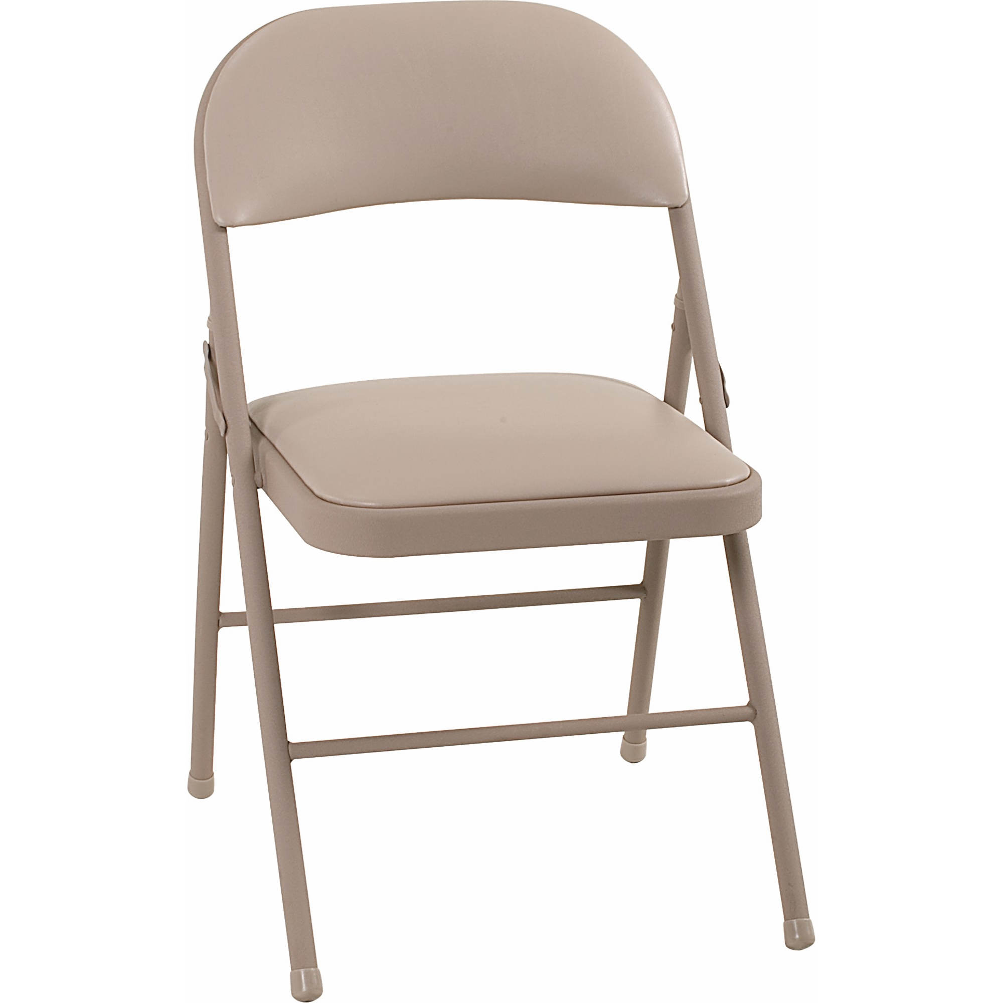 Cosco Products Vinyl Folding Chair 4 Pk Antique Linen Bjs Wholesale Club