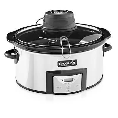 Crock-Pot 6.5-Qt. Countdown Slow Cooker with iStir Automatic Stirring Technology