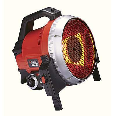 Black and Decker Fan-Forced Infrared Utility Heater