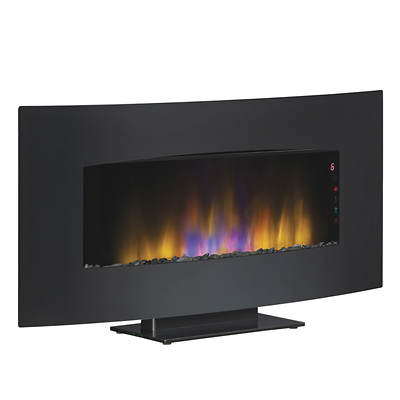 Duraflame Wall-Mount Electric Fireplace - Black