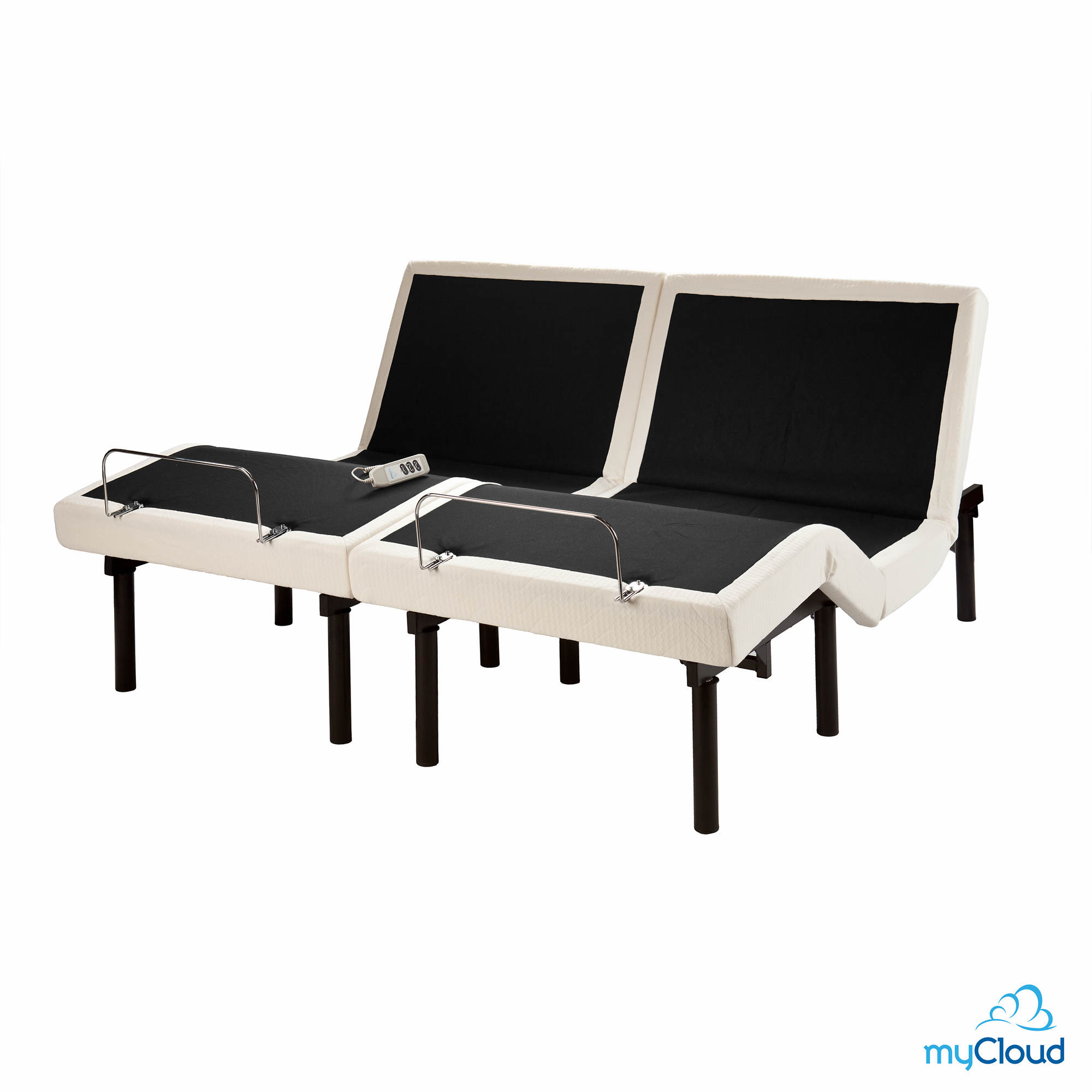 sei mycloud split california king size adjustable bed frame