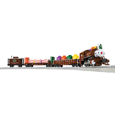 Lionel Gingerbread Junction Remote Control Train Set