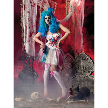 Party King Zombie Candy Girl Kid's Costume