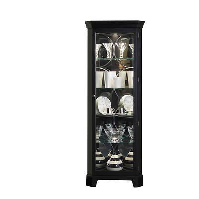 "Pulaski 74"" Curio Cabinet - Oxford Black"