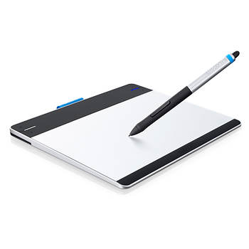 Wacom CTH480 Intuos Creative Pen and Touch Tablet, Small