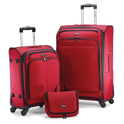Samsonite 3-Piece Luggage Set - Red