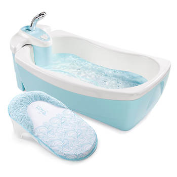 Summer Infant Lil' Luxuries Whirlpool, Bubbling Spa and Shower - Blue