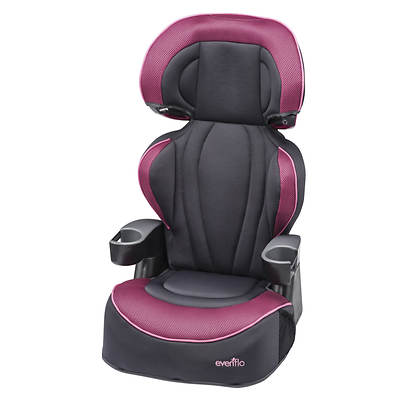 Evenflo Big Kid LX Booster Car Seat - Berry Blast