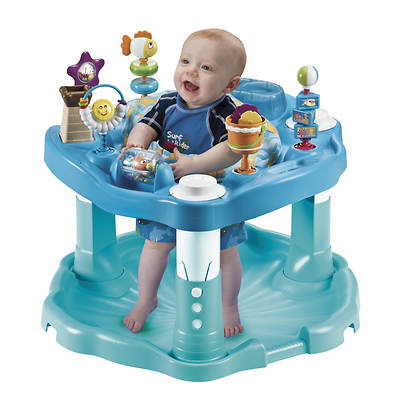 Evenflo Bounce & Learn Exersaucer - Beach Baby
