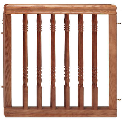 Evenflo Home Decor Stair Gate - Harvest Oak