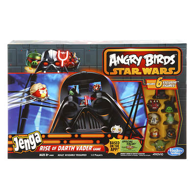 Hasbro Angry Birds Star Wars Jenga: Rise of Darth Vader Game
