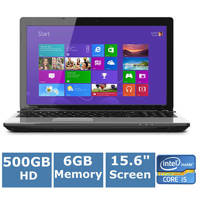 Toshiba Satellite C55-A5332 Laptop, Up to 3.2GHz Intel Core i5-3230M Processor