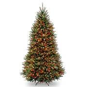 National Tree Company 9' Pre-Lit Artificial Dunhill Fir Christmas Tree