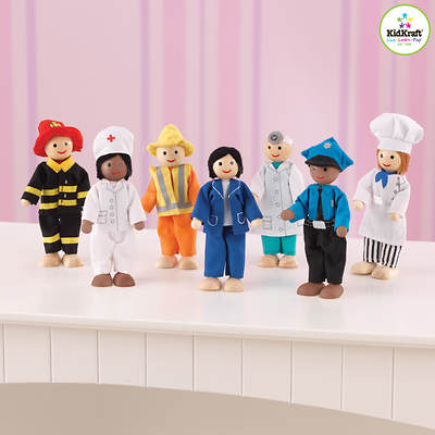KidKraft 7 Professional Dolls Set