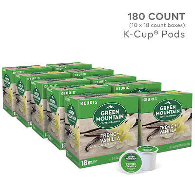 Green Mountain Coffee French Vanilla, 180 K-Cups