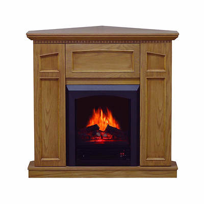 Comfort Glow Hamilton Electric Fireplace - Golden Oak